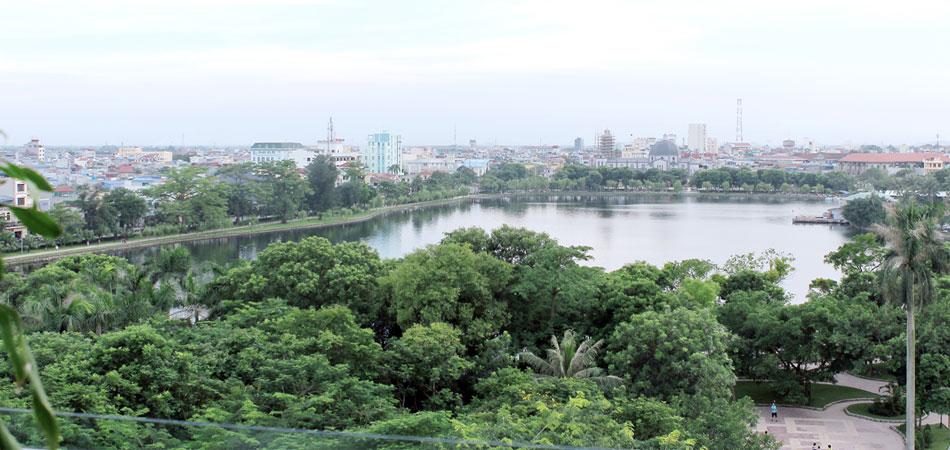 một góc Nam Định nhìn từ lakesidehotel